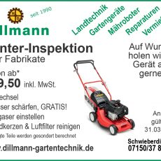 Winter-Inspektions-Aktion!